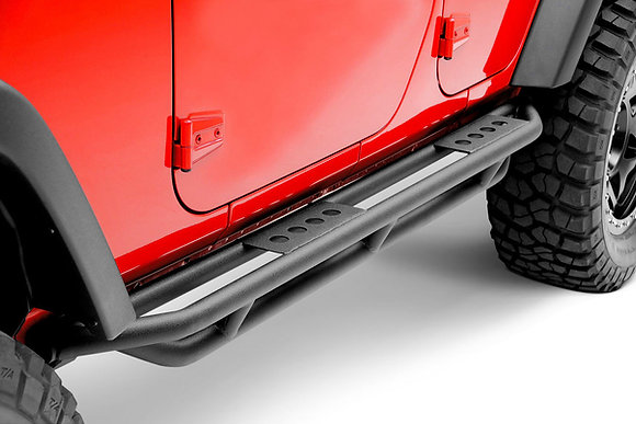 JK 4-door Triple Tube Rock Armor Side Step
