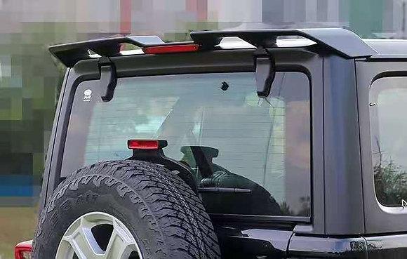 JK Rear Roof Spoiler Wing For Jeep Wrangler 2007-2017 w/ LED Light