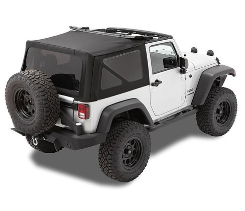2-Door Soft Top  - 2010-18 Wrangler JK (Rack not included)