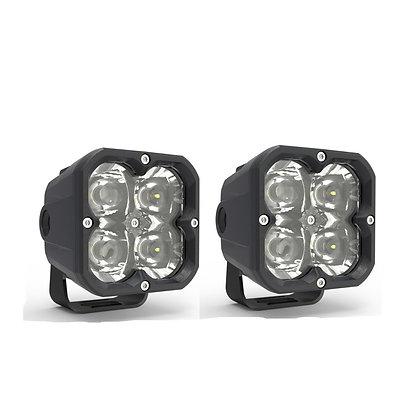 "3"" 20W CUBE POD LIGHT  (SPOT) - pair"