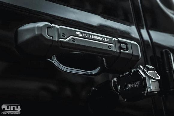 JL FURY Awaken Series 2-Door Handles -5pcs Black
