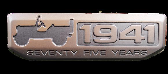 1941 Metal Badge