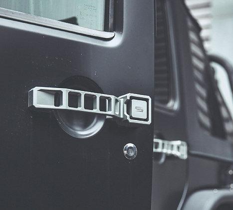FURY JK 4-Dr CNC Mechanical Door Handle -Aluminum Alloy