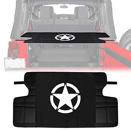 JK Trunk Shade Security Cargo Cover - STAR