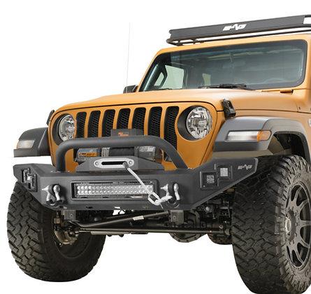 Paramount JL Full Width LED Light Style Front Bumper #51-8062