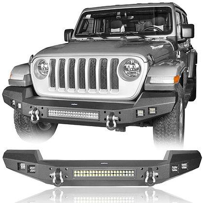 AL Full Width LED Front Bumper for JK