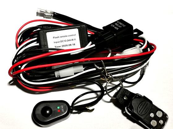 Remote Control Wiring Harness w/ Switch