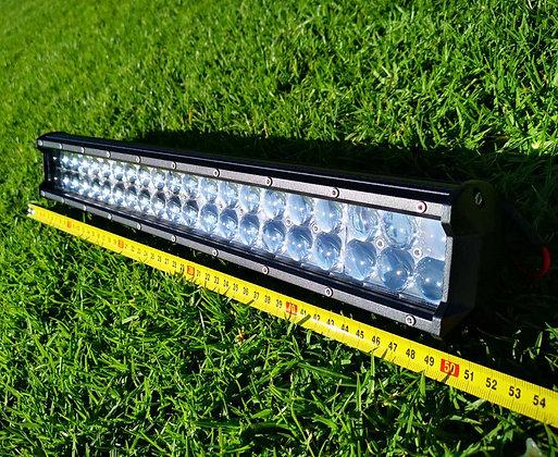 "20"" 126W CREE LED Spot Bar Light 4D Lens Dual Row"