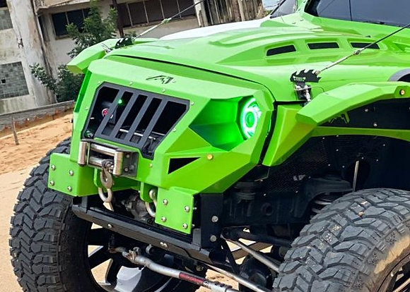 Armor Series Winch Front Bumper