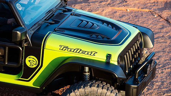 Trailcat Bonnet - Steel black e-coated