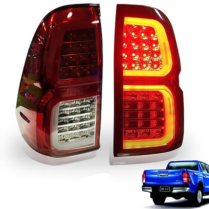 Toyota Hilux Revo LED Tail Light 2015-On Clear Lens