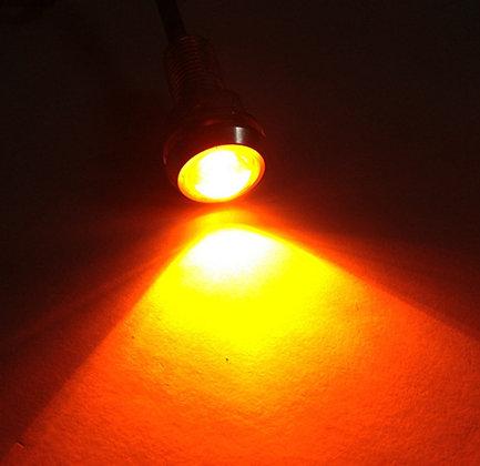 Eagle eyes 3/4 inch Amber Color LED Marker Lights -pair