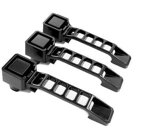 JK 2Dr Alloy Aluminum Door Handles - 3pc