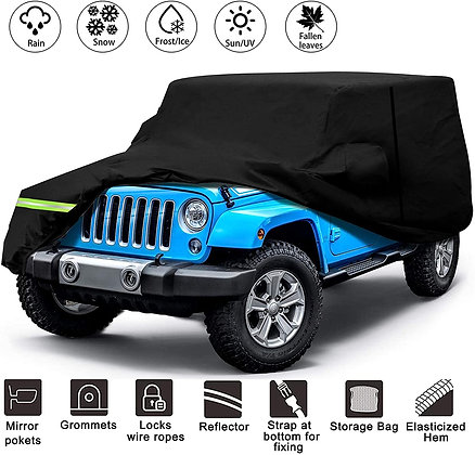 Jeep Wrangler 4Dr All Weather Cover 1987-2021