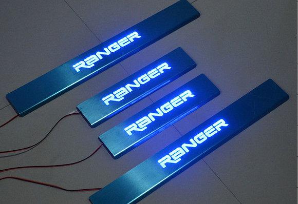 Ranger LED Door Sill Plate for T6/T7