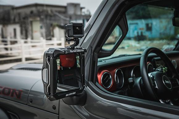JK FURY Multifunctional Rearview Mirror Rain Shield