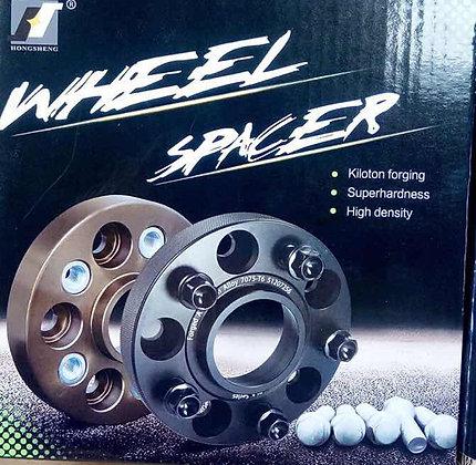 Ford Ranger Forged Wheel Spacer - 25mm Black /pc