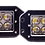 Thumbnail: Bumper Mount 4D Spot Beam CREE LED Light - Pair