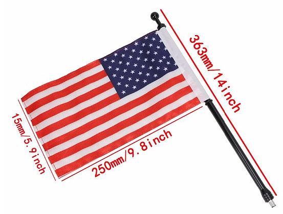 """TJ 14"""" Aluminium Flag Antenna"""