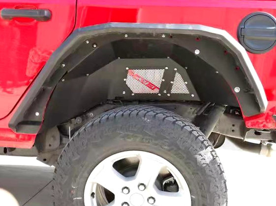 JL Aluminum Rear Inner Fender Kit
