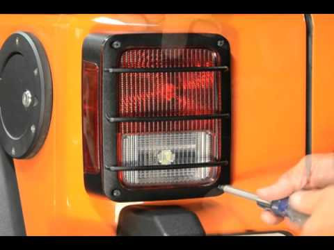 JK Tail light lamp protector - Grill