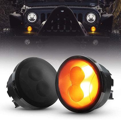 Hi-bright Front Grill indicator - Smoke Lens