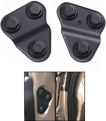 JL Front Door Screw Protection Bolts Cover Trim