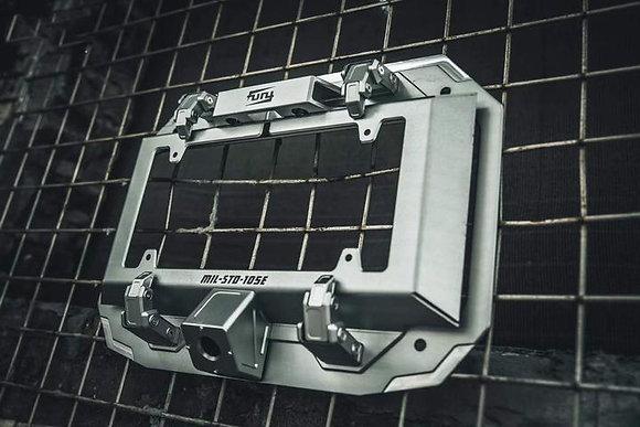 JL Awaken Series Tailgate License Plate Frame- Black