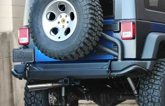 AEV Rear Bumper Tire Carrier