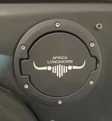 JK Aluminum Fuel Cap - Longhorn