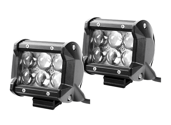 A-pilar Mount 4D CREE LED Spot Light - Pair