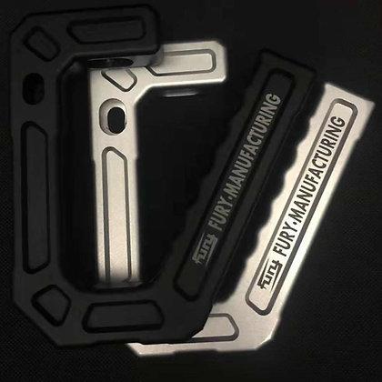 JK Armor A-pillar Grab Handle -Aluminum Black