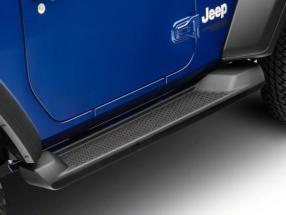 JL Factory Style  Side Steps 2-Door ABS