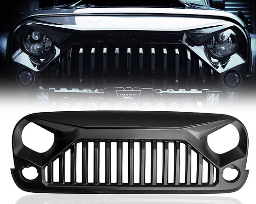 Monster Matte Black Grill with Metal Mesh
