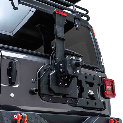 Paramount JL Heavy-Duty Hinged Tire Carrier