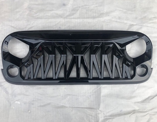 Mustang Grill Glossy Black