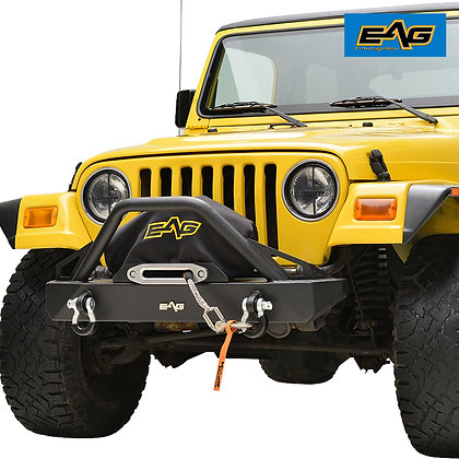 Paramount TJ, YJ Rock Crawler Stubby Front Bumper