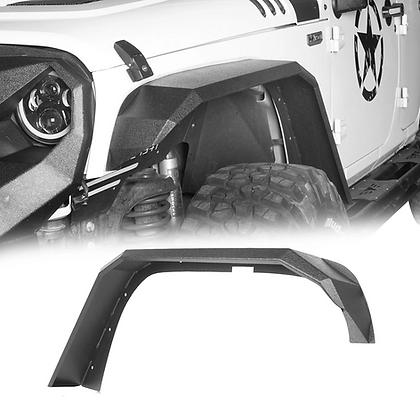 Longhorn JK  Fender Kit - Steel Black
