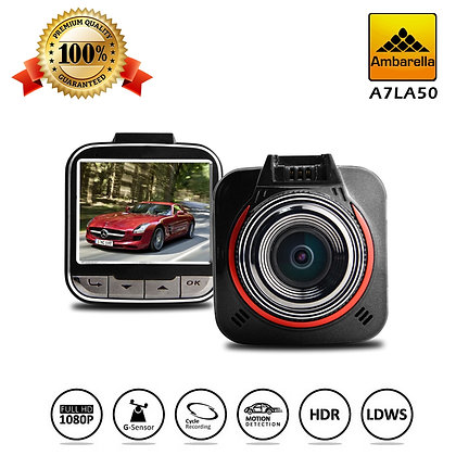 G52D Ultra HD GPS 1296P Dashcam