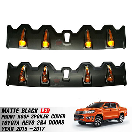 Hilux Revo LED Front Roof Spoiler Cover 2015-on
