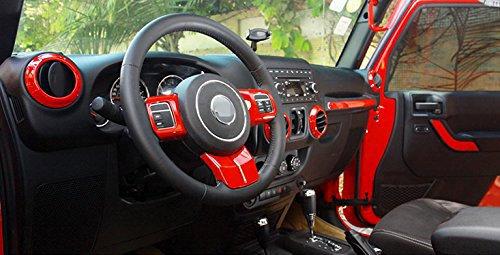 JK Interior Cover Trim Kits for 4Dr Jeep 12pcs