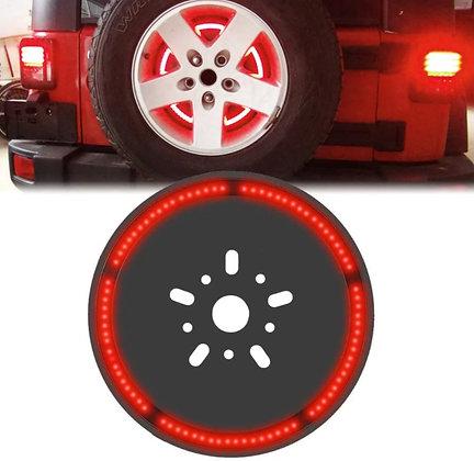 JK/JL Spare Tire Brake Light -85 radiant torch RED LEDs