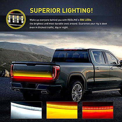 "60"" Triple Row Tailgate LED Strip"