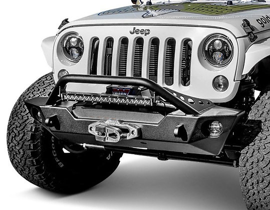 Punisher Front Bumper with Hoop
