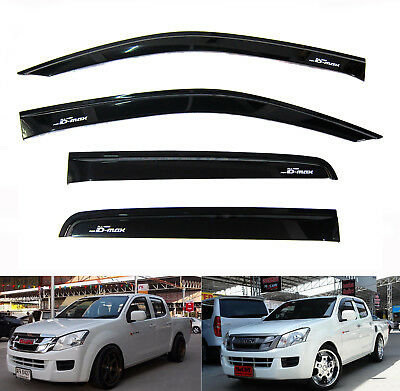 Isuzu DMAX Rain Shield Wind Deflector