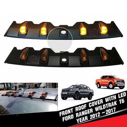 Ford Ranger LED Front Roof Spoiler Cover 2012-2019
