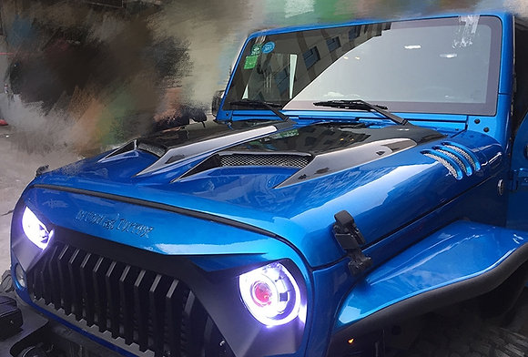 Transformer Bonnet - Steel black e-coated