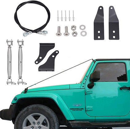 Jeep Wrangler Stainless Limb Raisers
