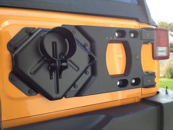 Heavy Duty Aluminium Spare Tire Carrier Mount Kits