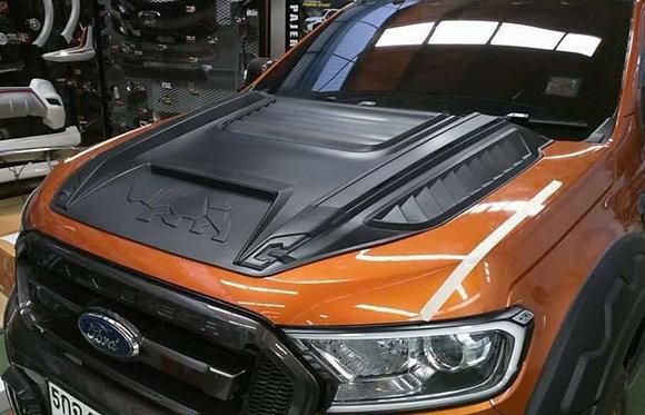 Ford Ranger T6/T7 Rhino Bonnet Scoop Matte Black